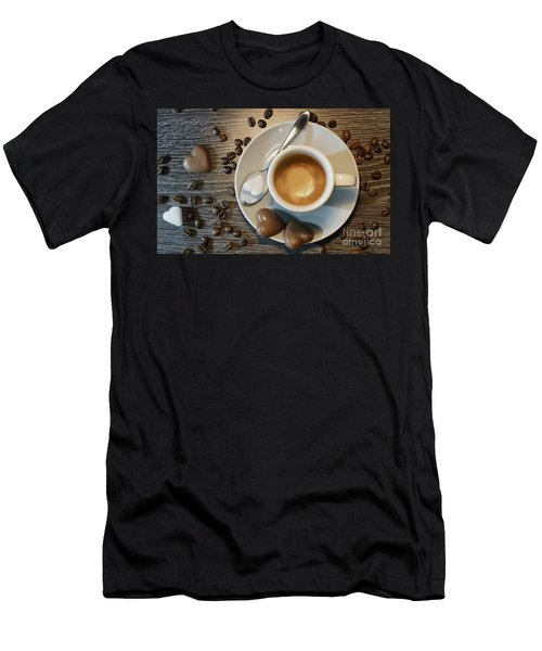 Coffee #1 Men's T-Shirt (Athletic Fit)