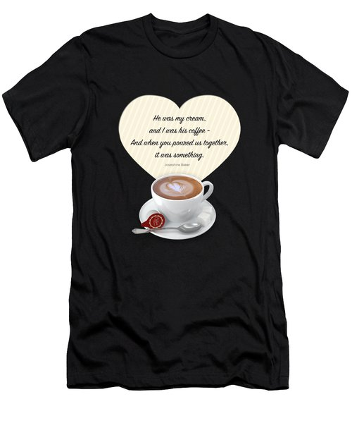 Coffee And Cream Men's T-Shirt (Athletic Fit)