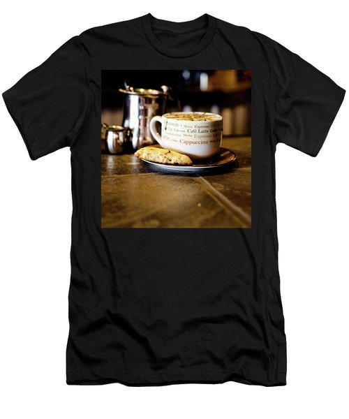 Coffee Bar Men's T-Shirt (Slim Fit)