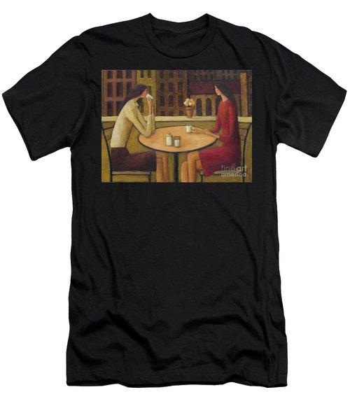Coffee Break Men's T-Shirt (Athletic Fit)