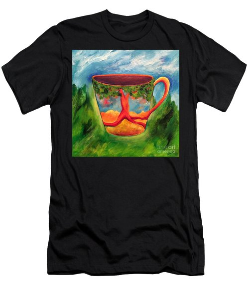 Coffee In The Park Men's T-Shirt (Athletic Fit)