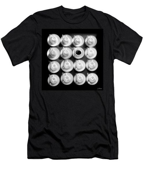 Coffee Time No. 3 Men's T-Shirt (Slim Fit) by Joe Bonita
