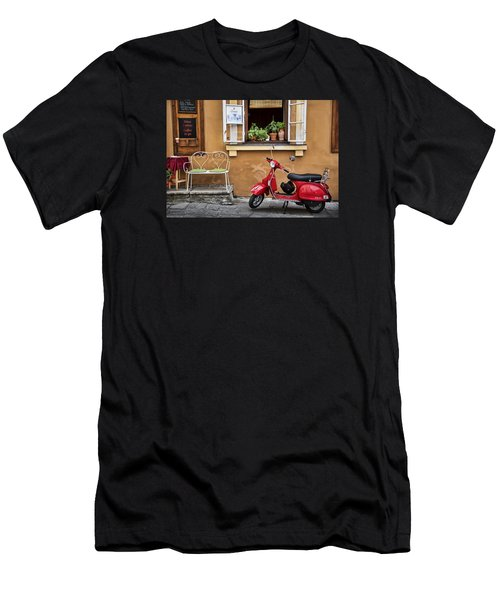 Coffee To Go Men's T-Shirt (Slim Fit) by James David Phenicie