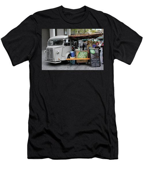 Men's T-Shirt (Slim Fit) featuring the photograph Coffee Truck by Christin Brodie