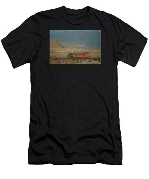 Cog Railway Mount Washington Men's T-Shirt (Athletic Fit)