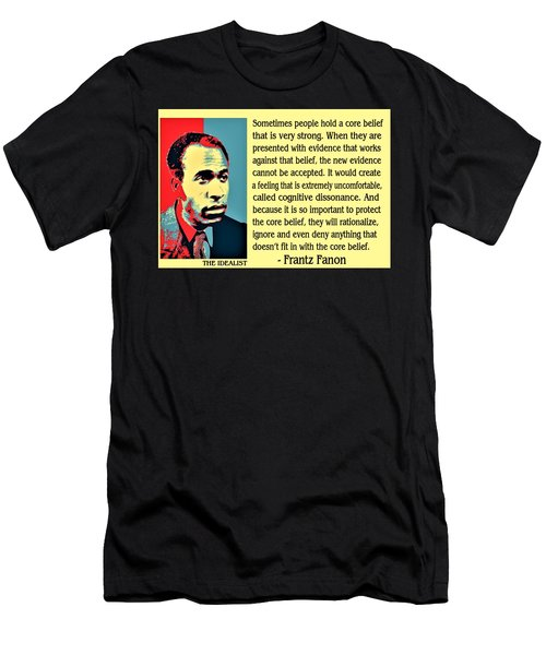 Cognitive Dissonance Frantz Fanon Men's T-Shirt (Athletic Fit)