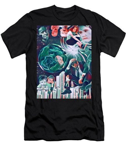 Cognitive Dissonance Men's T-Shirt (Athletic Fit)
