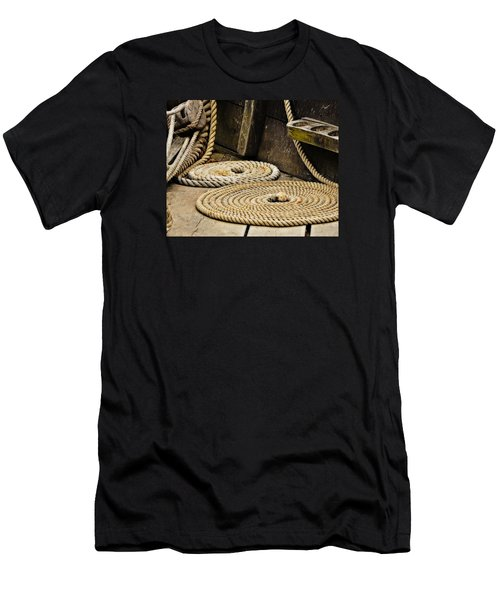 Coiled Rope From Philadelphia II Gunboat Men's T-Shirt (Athletic Fit)