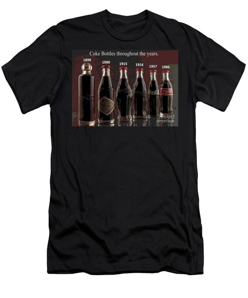 Coke Through Time Men's T-Shirt (Athletic Fit)