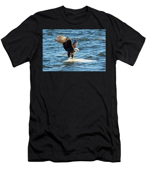 Cold Landing Men's T-Shirt (Athletic Fit)