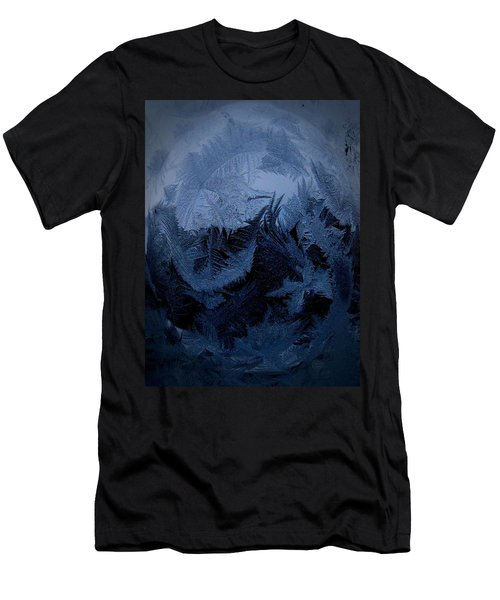 Cold Moon Rising Men's T-Shirt (Athletic Fit)