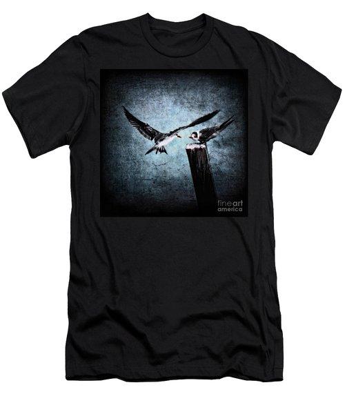 Colder Confrontations Men's T-Shirt (Athletic Fit)
