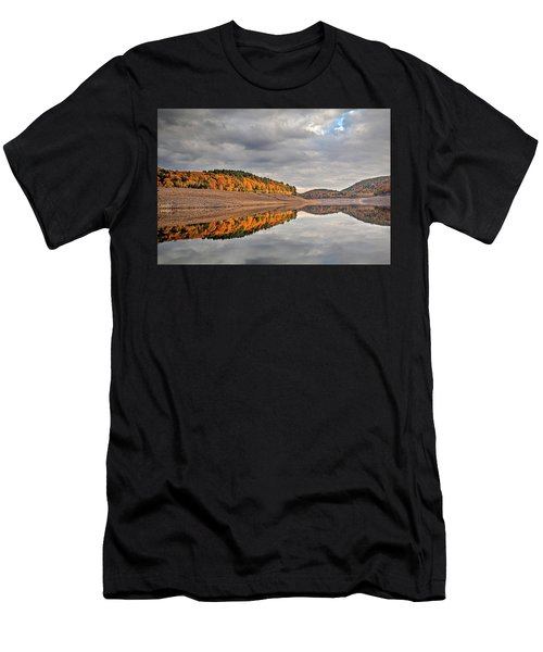 Colebrook Reservoir - In Drought Men's T-Shirt (Athletic Fit)