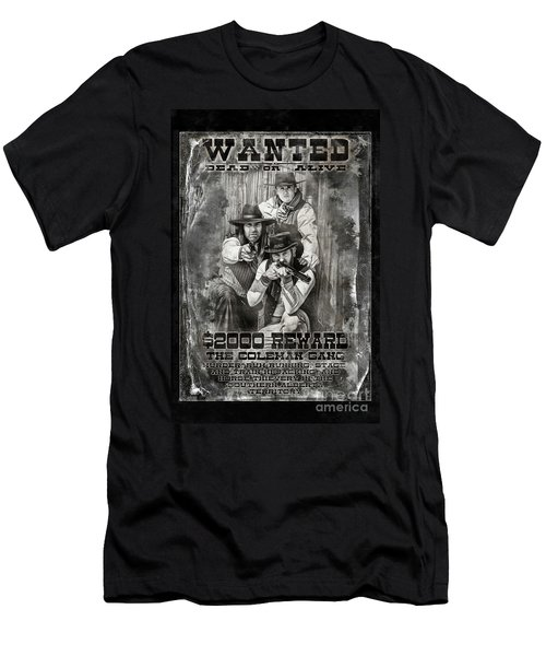 Coleman Gang Wanted Poster Men's T-Shirt (Athletic Fit)
