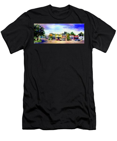 Colfax Main And Church Street Men's T-Shirt (Athletic Fit)