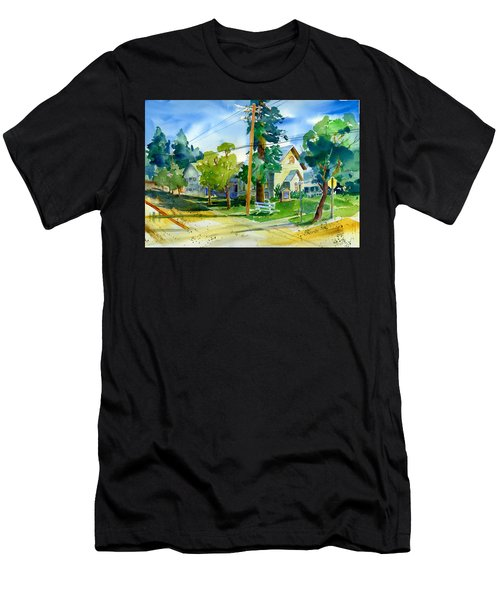 Colfax Methodist Church Men's T-Shirt (Athletic Fit)