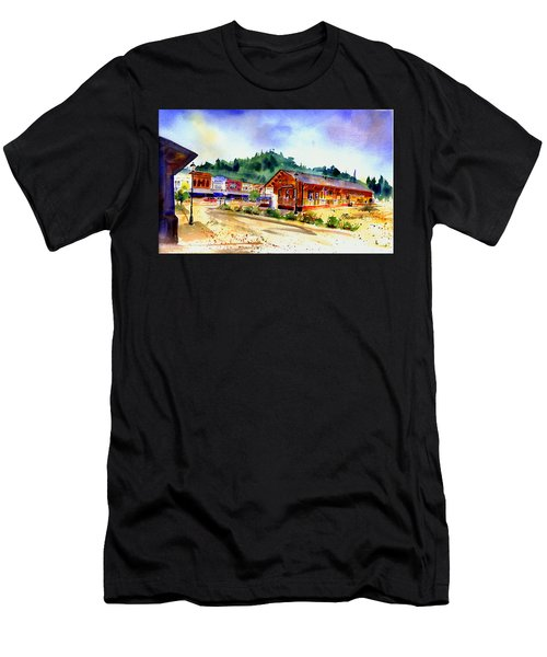 Colfax Rr Junction Men's T-Shirt (Athletic Fit)