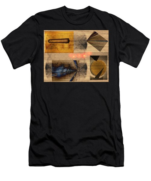 Collage - Cle Airport Men's T-Shirt (Athletic Fit)