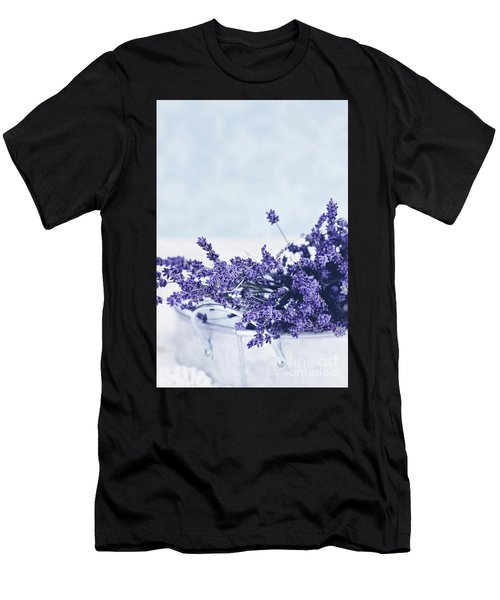 Collection Of Lavender  Men's T-Shirt (Athletic Fit)