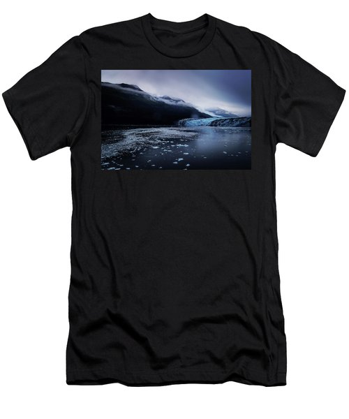 Men's T-Shirt (Athletic Fit) featuring the photograph College Fjord by Lucian Capellaro