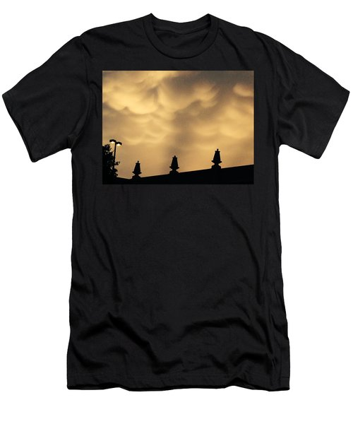 Collides With Beauty Men's T-Shirt (Athletic Fit)