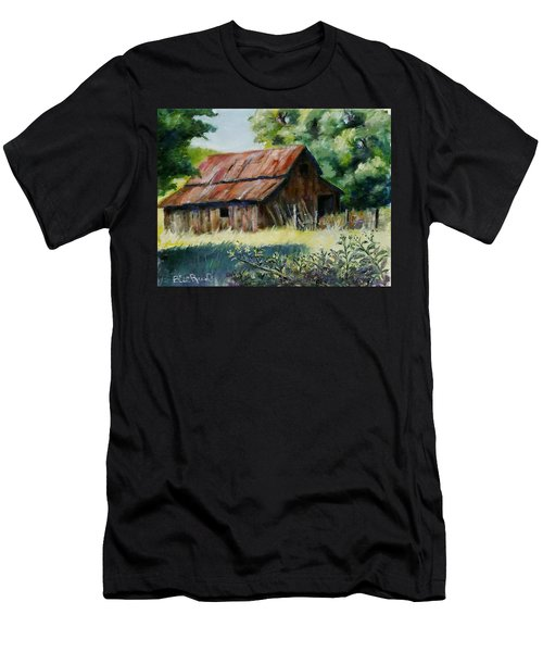 Coloma Barn Men's T-Shirt (Athletic Fit)