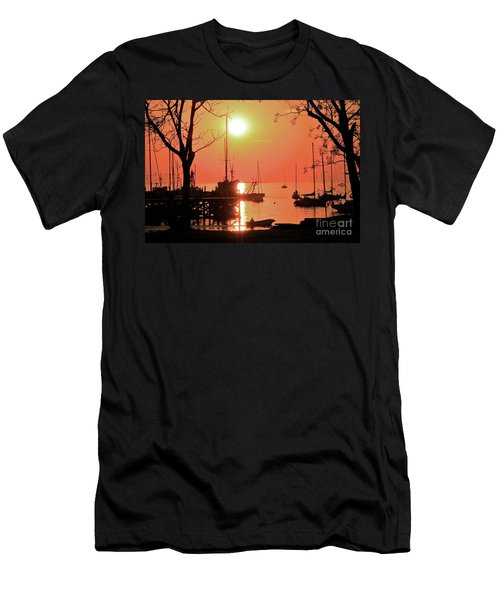 Colonia Del Sacramento I Men's T-Shirt (Slim Fit) by Bernardo Galmarini