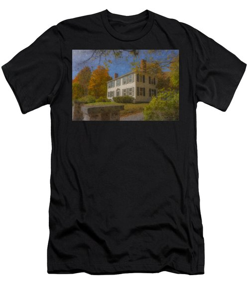 Colonial House On Main Street, Easton Men's T-Shirt (Athletic Fit)