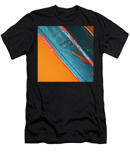 Color Abstraction Lxii Sq Men's T-Shirt (Athletic Fit)