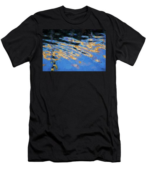 Color Abstraction Lxiv Men's T-Shirt (Athletic Fit)