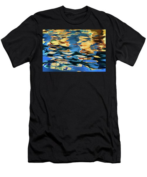 Color Abstraction Lxix Men's T-Shirt (Athletic Fit)