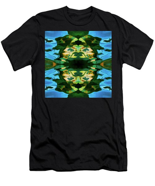Men's T-Shirt (Slim Fit) featuring the photograph Color Abstraction Lxv by David Gordon