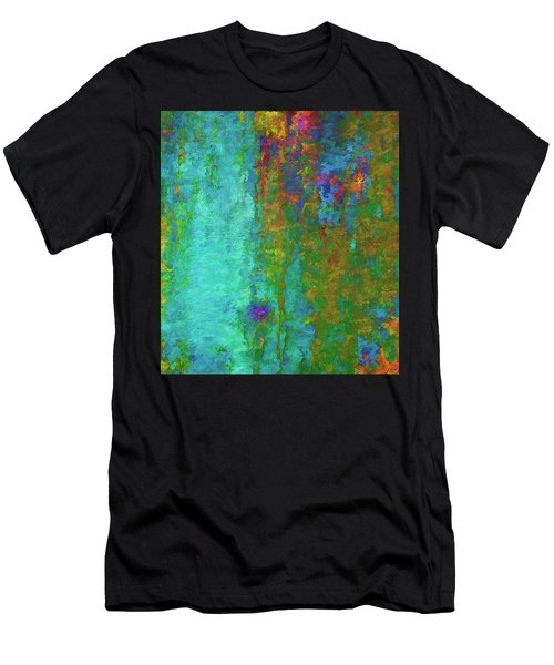 Men's T-Shirt (Athletic Fit) featuring the photograph Color Abstraction Lxvii by David Gordon
