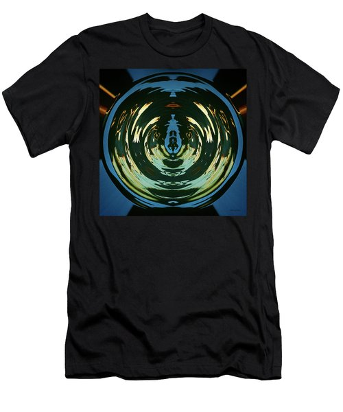 Men's T-Shirt (Slim Fit) featuring the photograph Color Abstraction Lxx by David Gordon