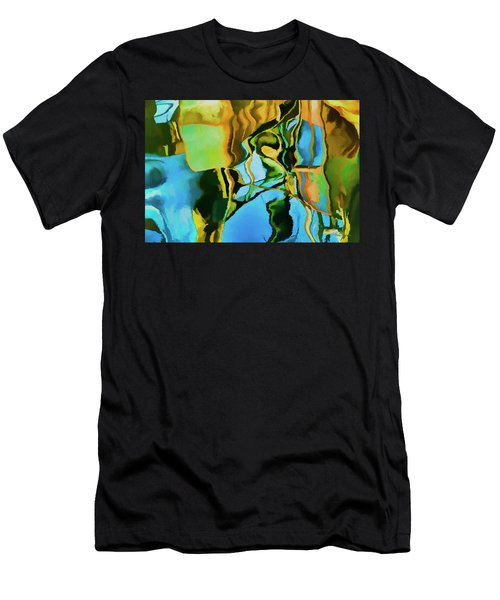 Men's T-Shirt (Slim Fit) featuring the photograph Color Abstraction Lxxiii by David Gordon