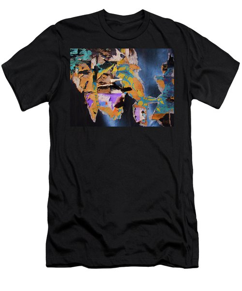 Men's T-Shirt (Athletic Fit) featuring the photograph Color Abstraction Lxxvii by David Gordon