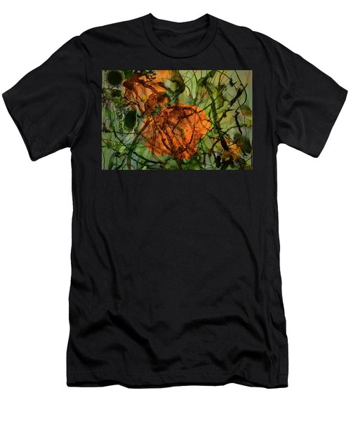 Color Abstraction Xx Men's T-Shirt (Athletic Fit)