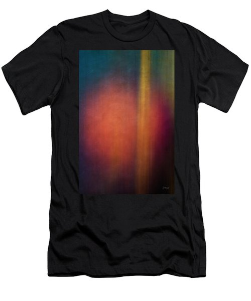 Color Abstraction Xxvii Men's T-Shirt (Slim Fit) by David Gordon