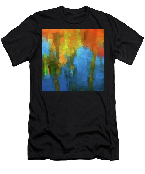 Color Abstraction Xxxi Men's T-Shirt (Athletic Fit)