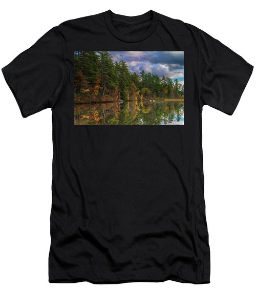 Color At Songo Pond Men's T-Shirt (Athletic Fit)