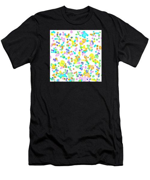 Color Blots Men's T-Shirt (Athletic Fit)