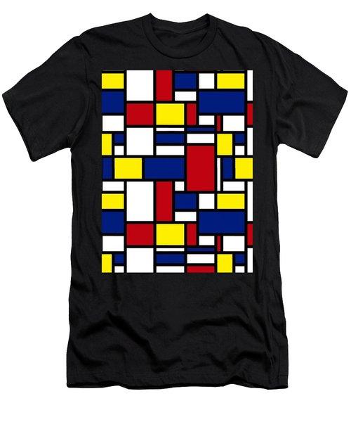 Color Box Men's T-Shirt (Slim Fit)