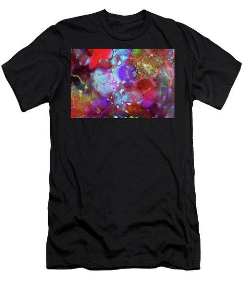 Color Burst Men's T-Shirt (Athletic Fit)