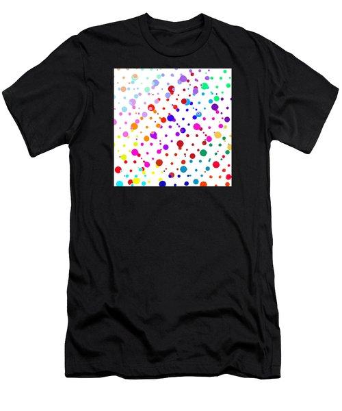 Color Cells Men's T-Shirt (Athletic Fit)