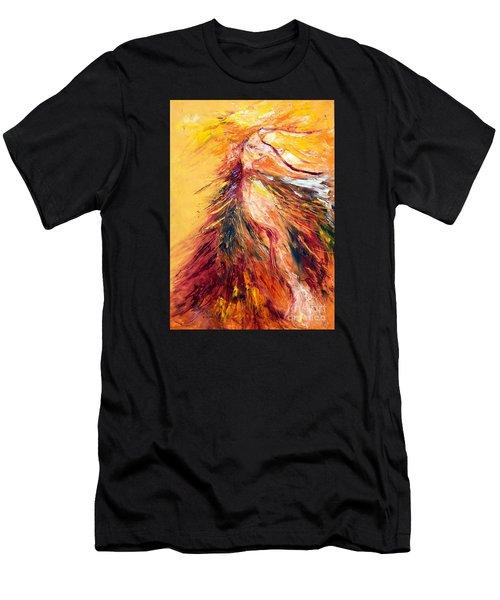 Color Dance Men's T-Shirt (Athletic Fit)