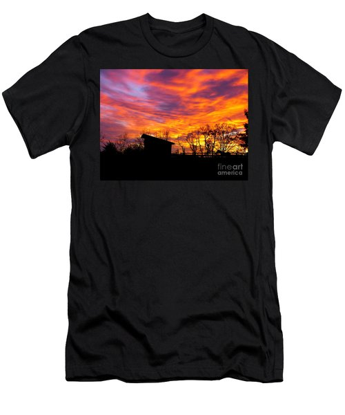 Color In The Sky Men's T-Shirt (Athletic Fit)