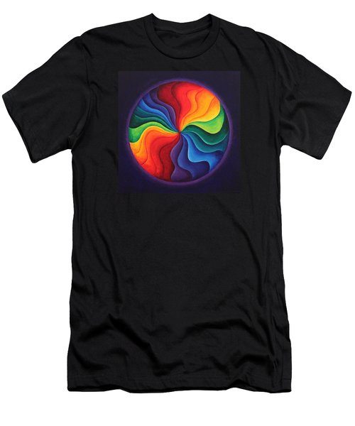 Color Joy Men's T-Shirt (Athletic Fit)