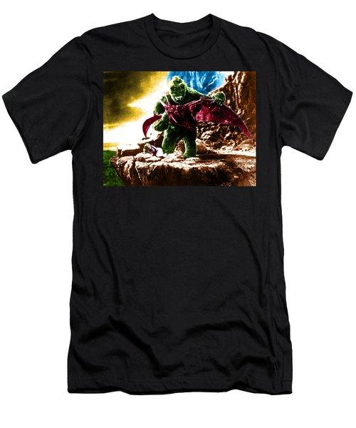Color King Kong Men's T-Shirt (Athletic Fit)