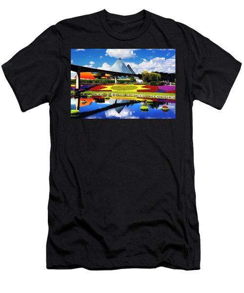 Color Of Imagination Men's T-Shirt (Slim Fit) by Greg Fortier