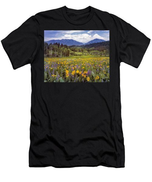 Color Of Spring Men's T-Shirt (Athletic Fit)
